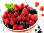Infusión de frutas del bosque