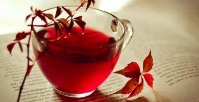 infusion de malva te rojo e hinojo