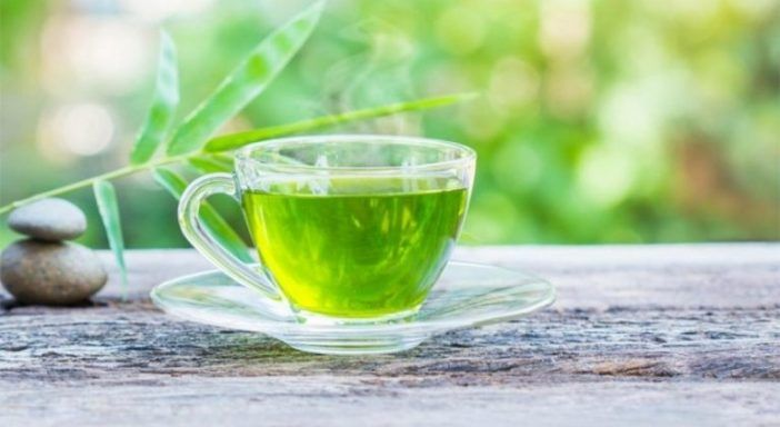 infusion de mate y te verde