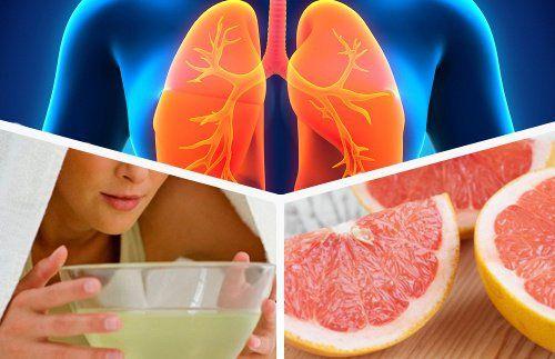 infusiones para limpiar los pulmones