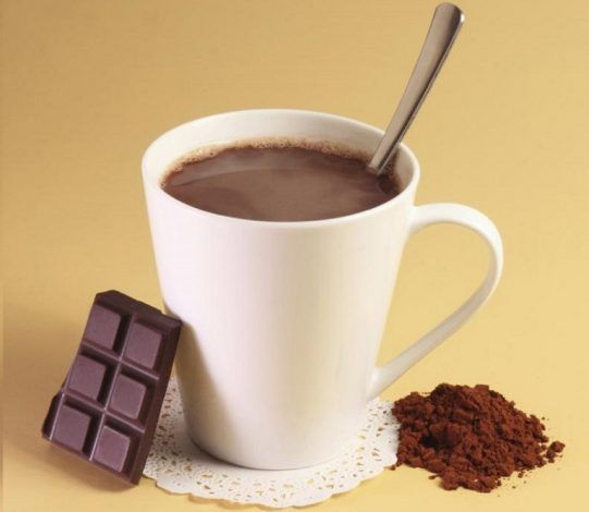 infusion de chocolate
