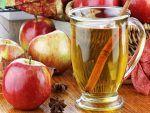 Infusión de manzana