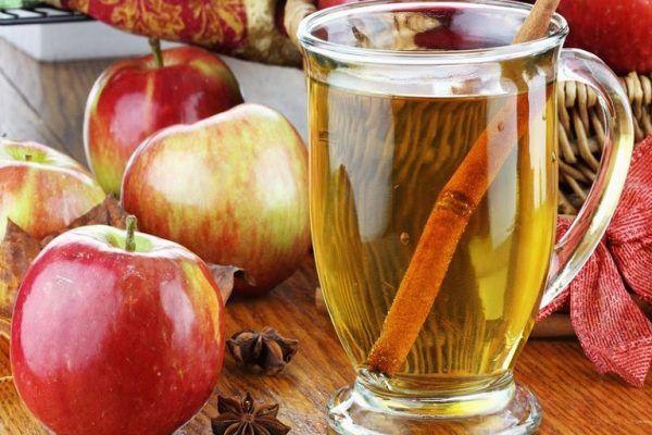infusion de manzana