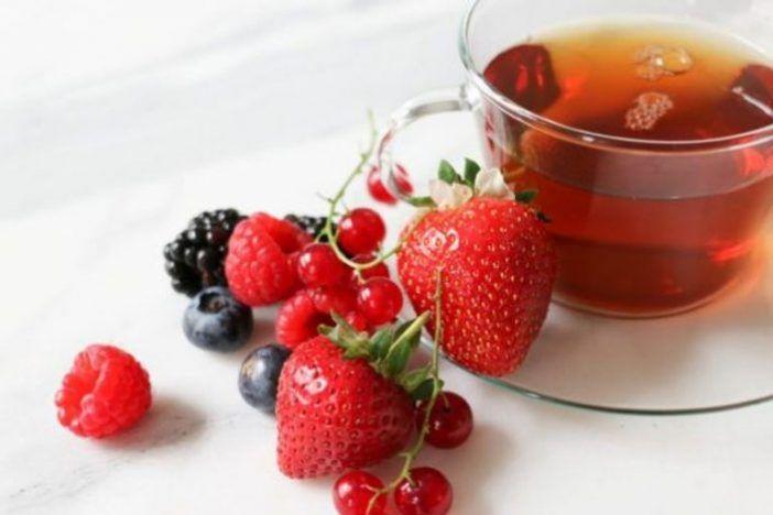 infusión de frutos rojos