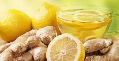 infusion jengibre y limon