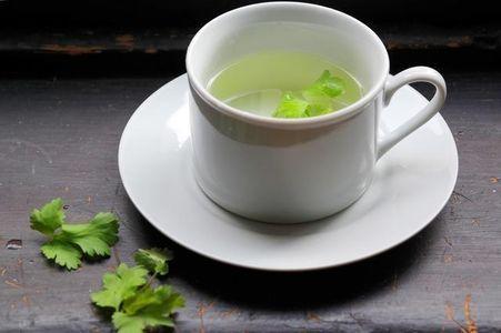 infusión de cilantro