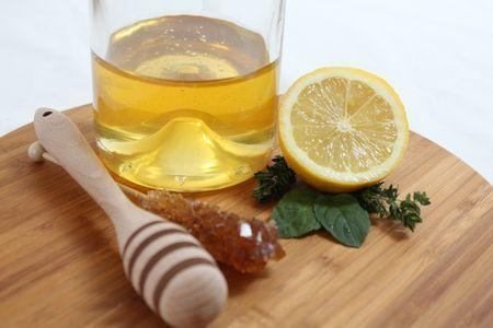 infusión de miel