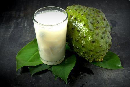 zumo de Guanábana