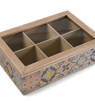 cajas de te