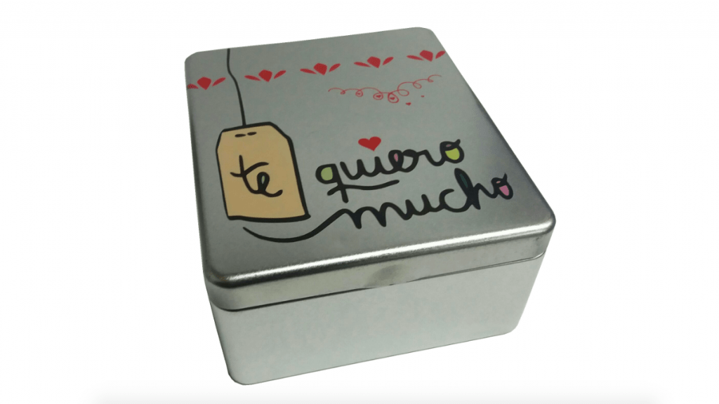 cajas metalicas infusiones