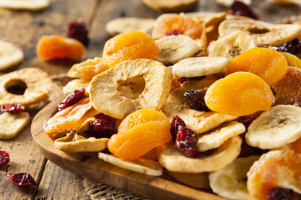 te de fruta deshidratadas